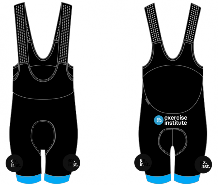 ex inst bib shorts