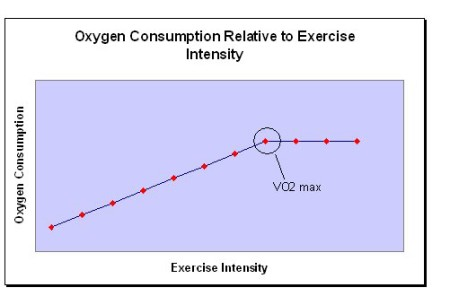 The Vo2 max can occur prior to the end of the Vo2 test, meaning the actual intensity for Vo2 max can only be measured through gas exchange analysis